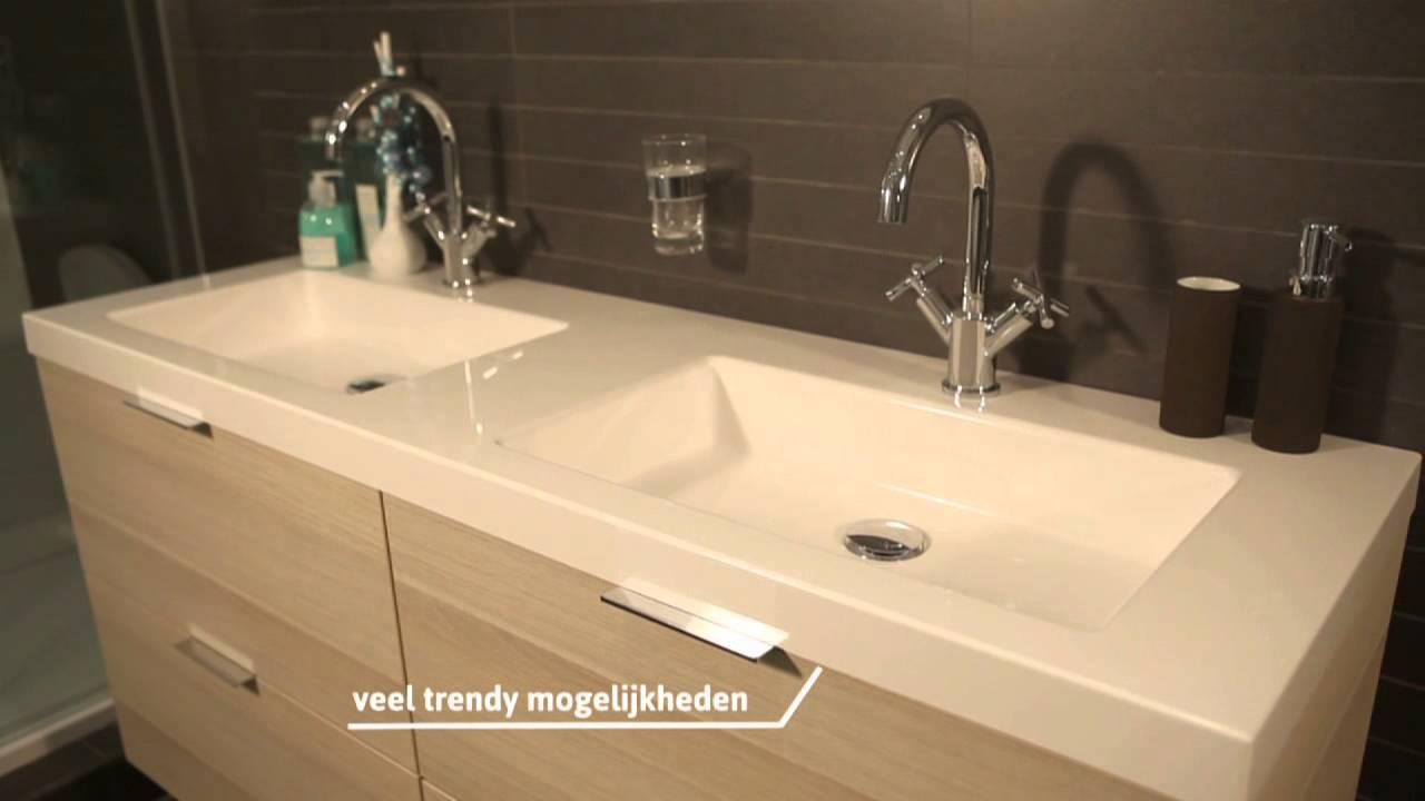 Brugman keukens en badkamers: Tip van Tom - Badmeubel - YouTube