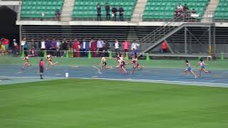 女4x100mR 予4組 全国高校総体 北九州地区予選