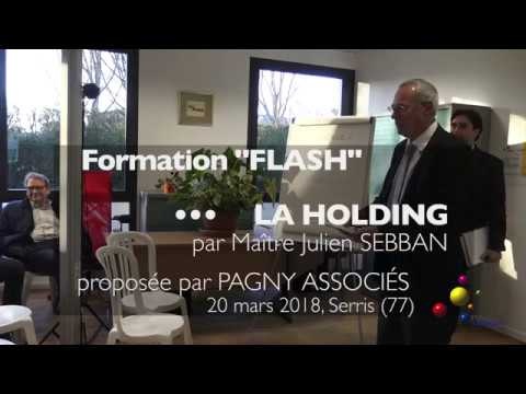HOLDING : Pourquoi une holding ?