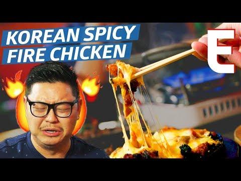 Spicy Korean Cheesy Fire Chicken Is Chicago's Best Late-Night Dish — K-Town