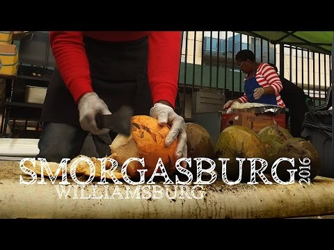 Smorgasburg 2016 in Williamsburg Brooklyn Video