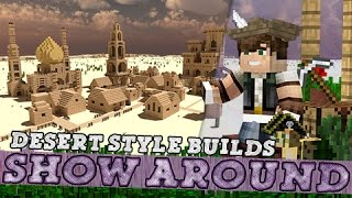 Show-Around Arabian Desert Style Mosque & Castle!