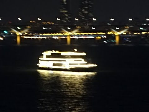Seoul at Night, River Han Cruise, Seoul, South Korea