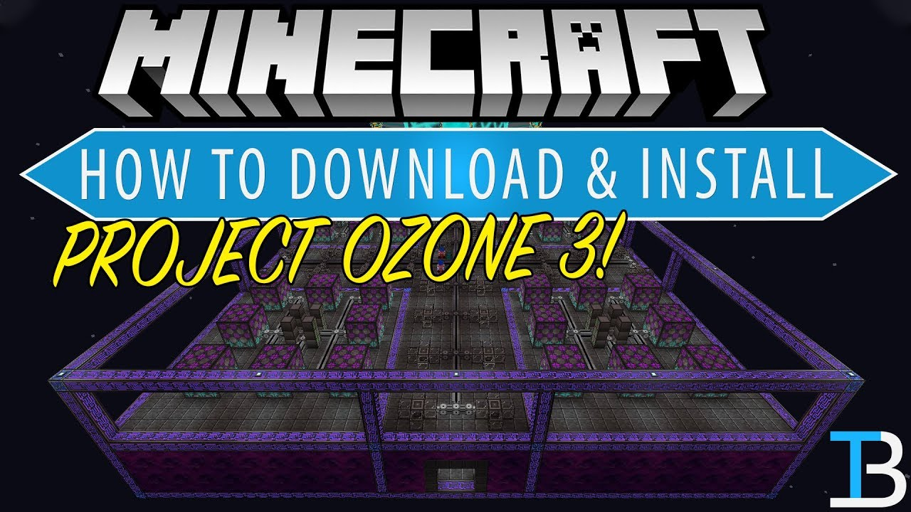 How To Download & Install Project OZone 3 in Minecraft
