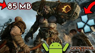 [85 MB] How To Download God Of War Highly Compressed On Android | God Of War PSP Game On Android