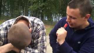 Прикольное интервью в деревне. Угар))