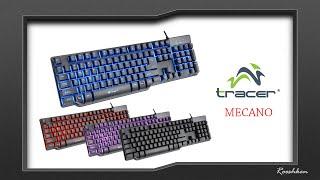 Tracer Mecano - Test i recenzja niedrogiej klawiatury membranowej