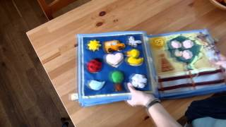 My fifth quiet book for Timmy 1