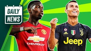 TRANSFER NEWS: Rabiot to Barcelona, Man United in deep trouble + Cristiano Ronaldo's Juventus debut