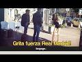 """""""Grita Fuerza Real Madrid y te enseño las tetas"""": broma a los hinchas napolitanos (Hidden Camera)"""