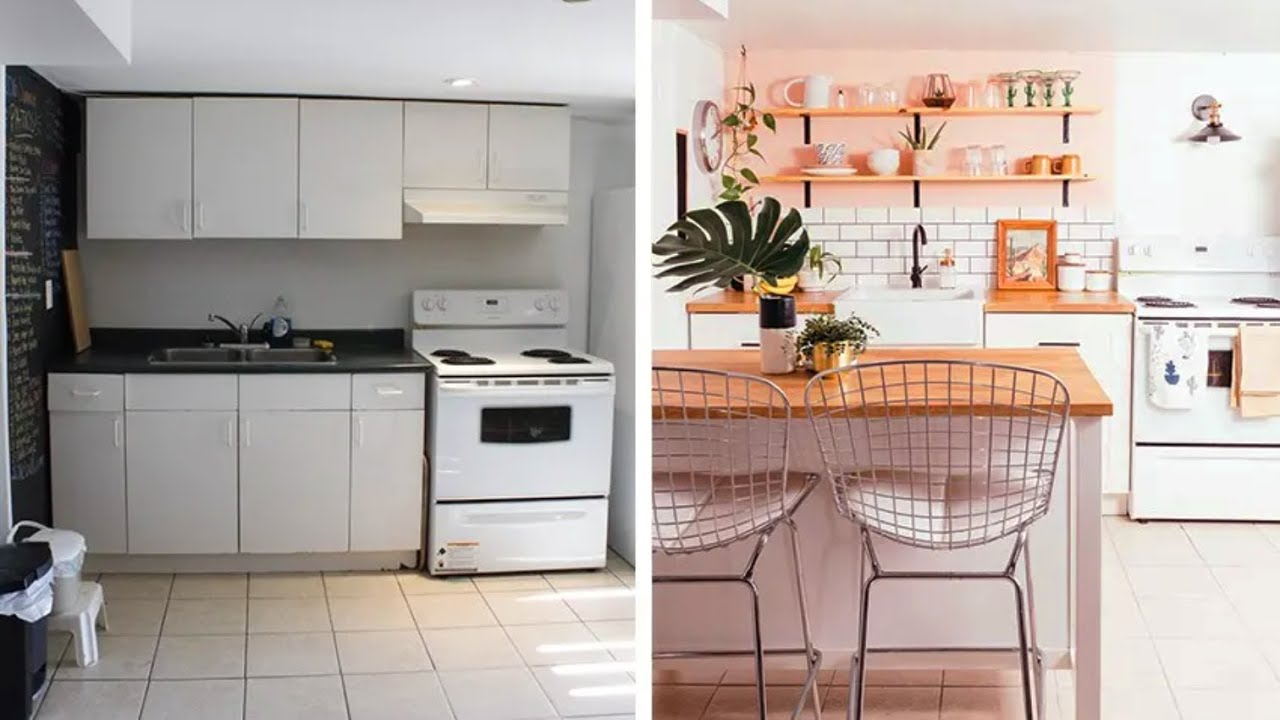 Interior Design How To Renovate A Tiny Rental Kitchen