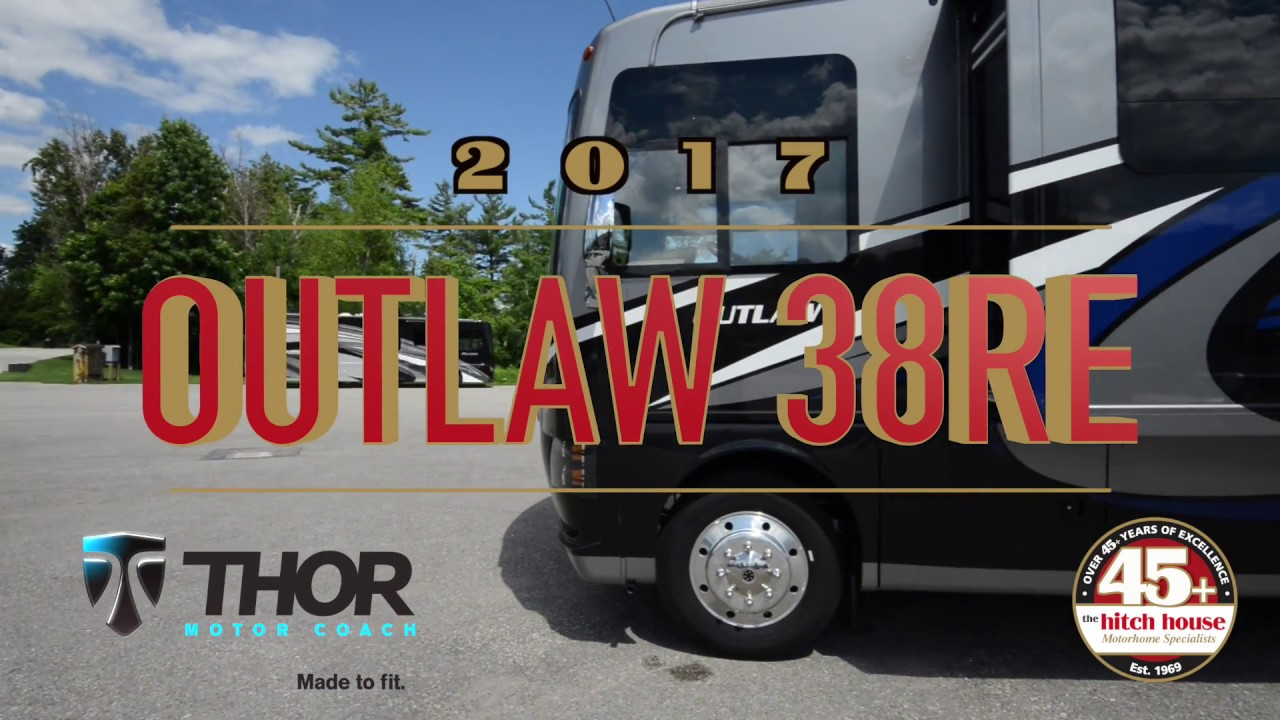 2017 Thor Outlaw 38re Quot Residential Edition Quot Motorhome