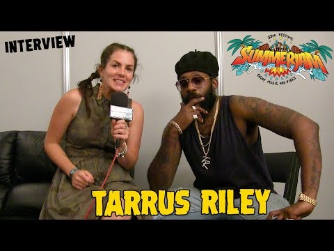 Tarrus Riley - Interview @SummerJam 2018