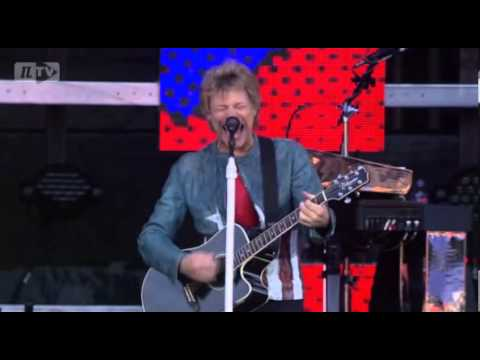 Jon Bon Jovi, David Bryan & Tico Torres: Tampere, Finland (PRO-SHOT) May 26th, 2013