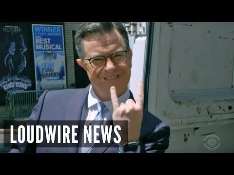 Stephen Colbert Buys Metal Band a New Van