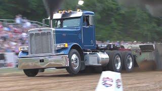 Truck Pulling 2021Lucas Oil Pro Stock Semi Trucks In Action At Boonsboro \u0026  Easton