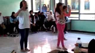 XII Adm.Perkantoran 3 ujian praktek Dance Cover Mr.Mr SNSD ( SMK N 1 Lemahabang )