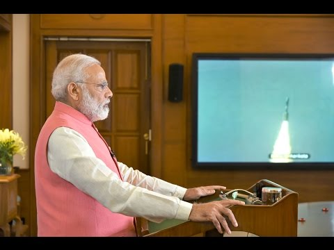 PM Modi's address along with South Asian leaders at successful launch of South Asia Satellite