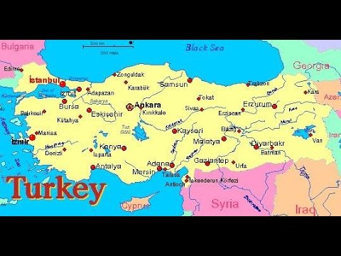 Watching Turkey And Her Major Role In The Endtimes YouTube - Where is turkey located