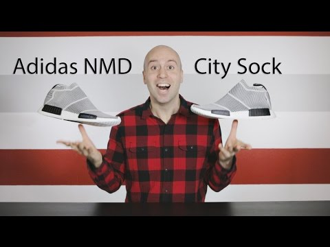 Adidas NMD City Sock Primeknit Unboxing + Review + Glow