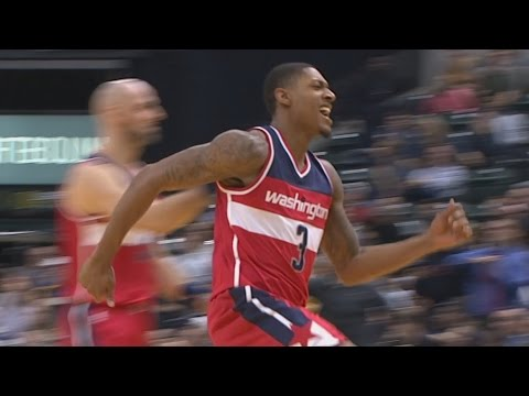 Thaddeus Young Game Winner with 0.9 Seconds Left! Wizards vs Pacers
