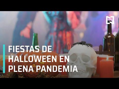 Fiestas clandestinas de Halloween pese al COVID-19 - Despierta