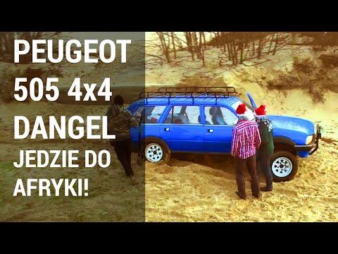 Peugeot 505 4x4 Dangel - Ekipa Z Gdańska Jedzie Do Afryki. To Trzeba Zobaczyć!