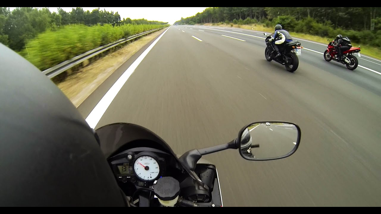 Kawasaki Ninja Zx 6r Vs Yamaha R6 Vs Honda Cbr 600 Rr Acceleration
