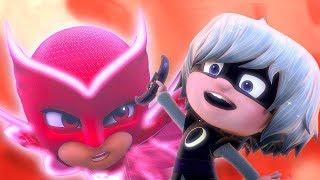 Герои в масках - Неуклюжий Кэтбой - мультики для детей