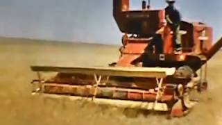 Farm Life Home Video in Montana 1950s, early 60s