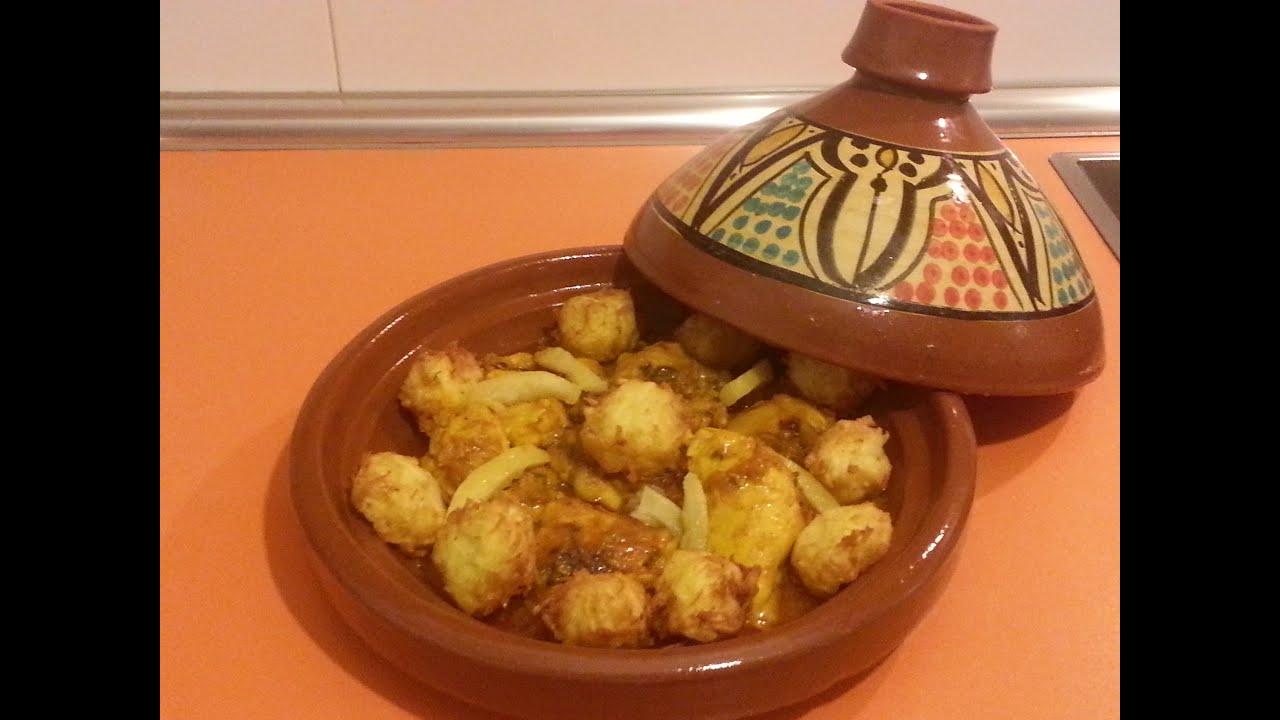 el arte de la cocina rabe tajin de pollo con alb ndigas