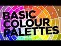 Graphic Design Tutorial: Basic colour palettes