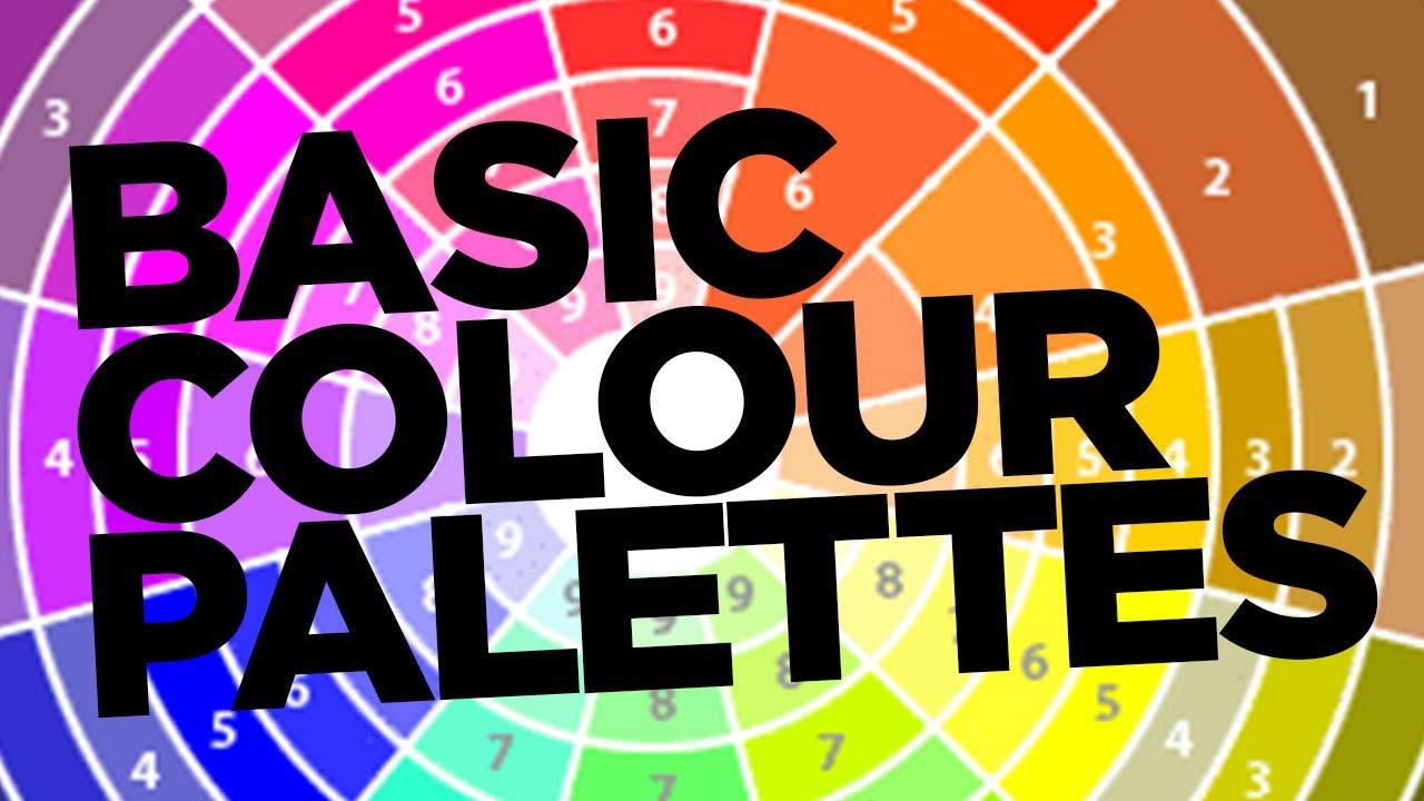 Graphic Design Tutorial: Basic colour palettes - YouTube