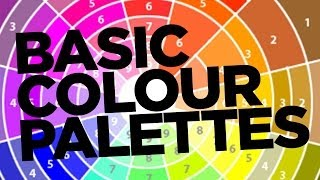 Graphic Design Tutorial: Basic colour palettes