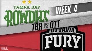 Tampa Bay Rowdies vs Ottawa Fury FC: April 7, 2018