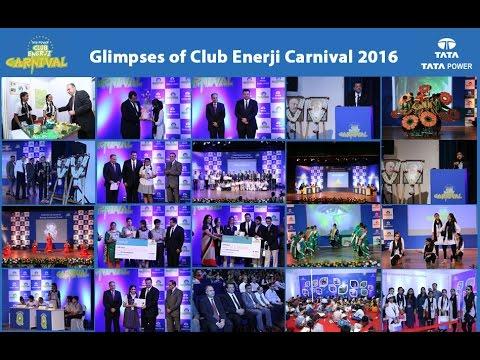Glimpses of Tata Power Club Enerji Carnival 2016