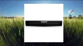 Pyle PSBV320BT Bluetooth Digital Soundbar Speaker System with FM Radio and Remote Control