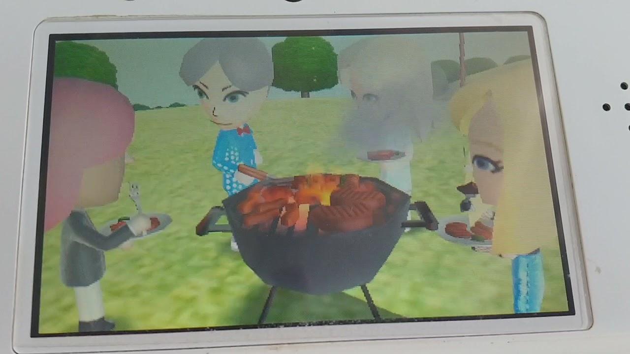 친구모아아파트 바베큐 파티 Tomodachi Life BBQ Party