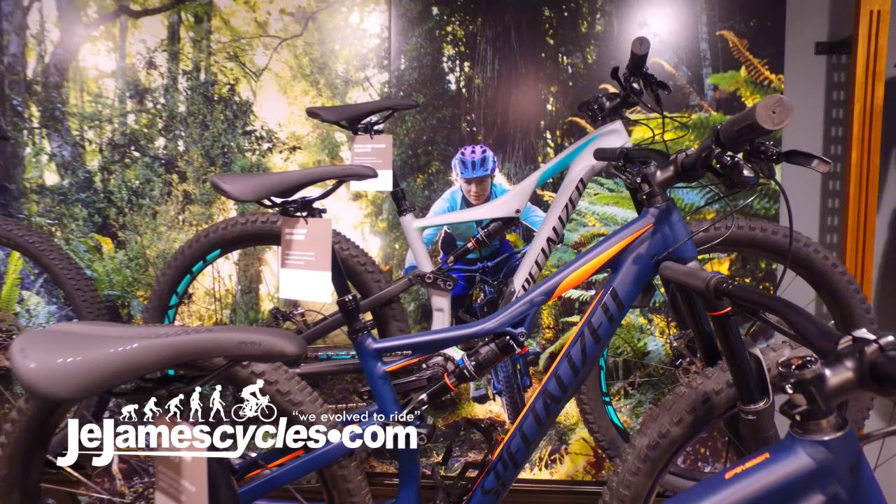 f3f0980bebd Specialized Camber Womens Mountain Bike Range 2018 - YouTube