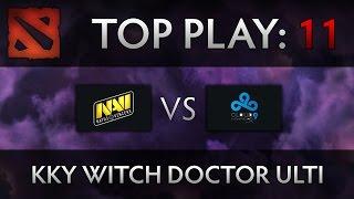 dota 2 ti4 top play na vi vs c9 kky witch doctor ulti