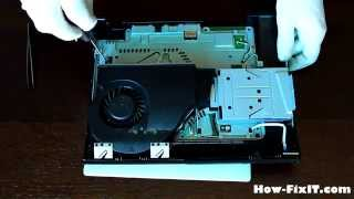 Playstation 3 Super SLIM disassembly and fan cleaning, разборка и чистка консоли