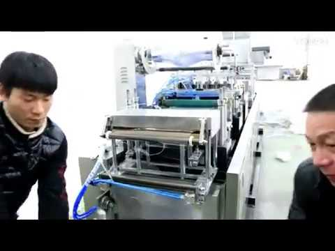 Instructions how to change mold for automatic vacuum stretch film forming sealing packaging machine