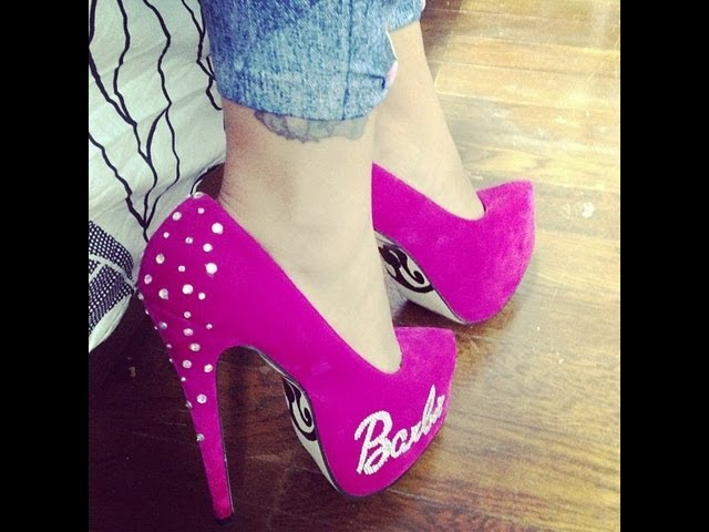DECORA TUS ZAPATOS BARBIE Videos De Viajes