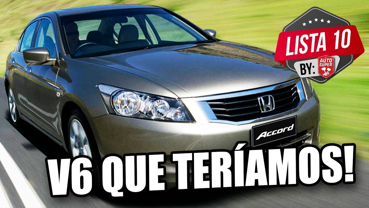 10 CARROS QUE TERÍAMOS DE OLHOS FECHADOS QUE SÃO V6