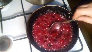 Соус вишневый для блинчиков и вареников за 10 минут