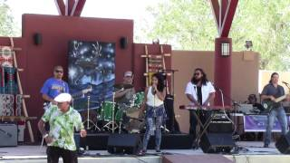 Rebecca Arscott & One Heart Fyah @ New Mexico State Fair Indian Village 2016 Clip 5