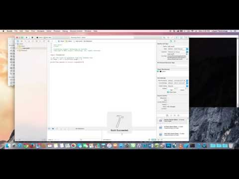 Swift 2 Programming Lesson 1 : Creating a Command Line Tool