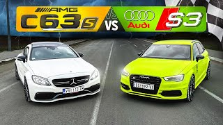 C63s vs S3 STAGE 2 - TRKA!