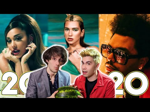 Every Hit Song From 2020 in 3 Minutes!