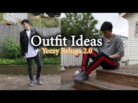 Outfit Ideas W/ Yeezy 350 V2 Beluga 2.0 | Men's Lookbook With Yeezys